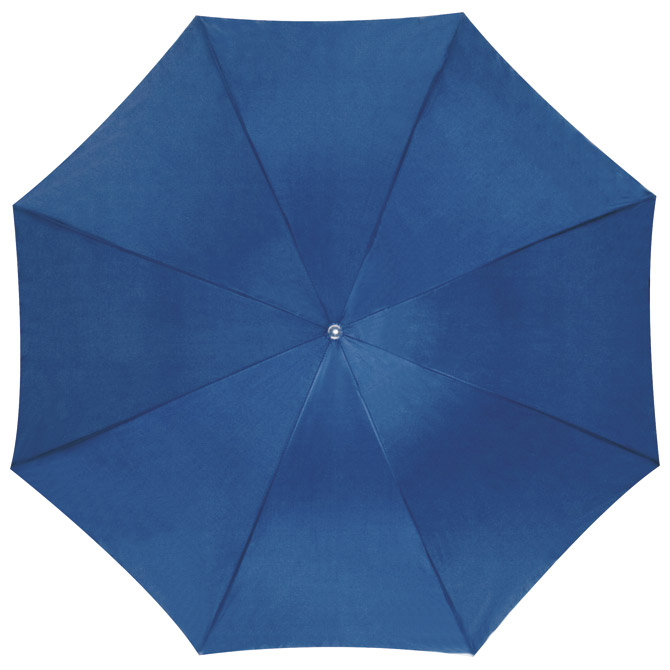 Kišobran automatik s drvenom drškom plavi