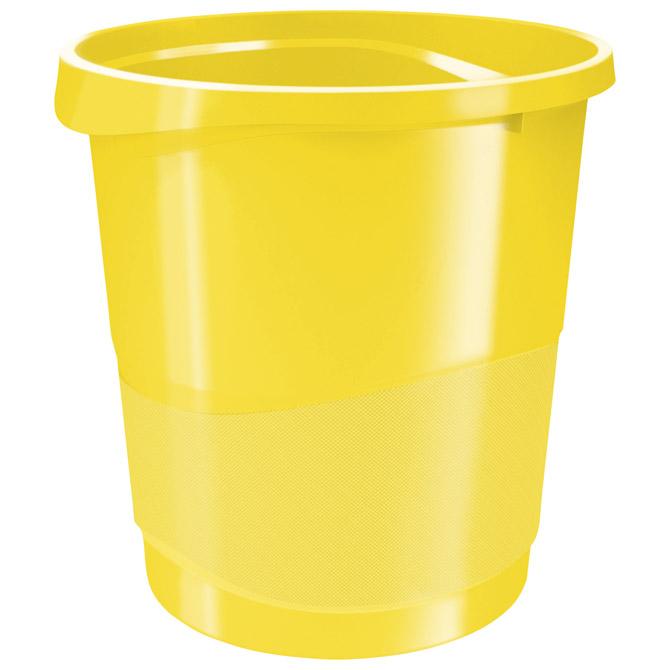 Koš za smeće pp 14L Vivida Esselte 623946 žuti!!