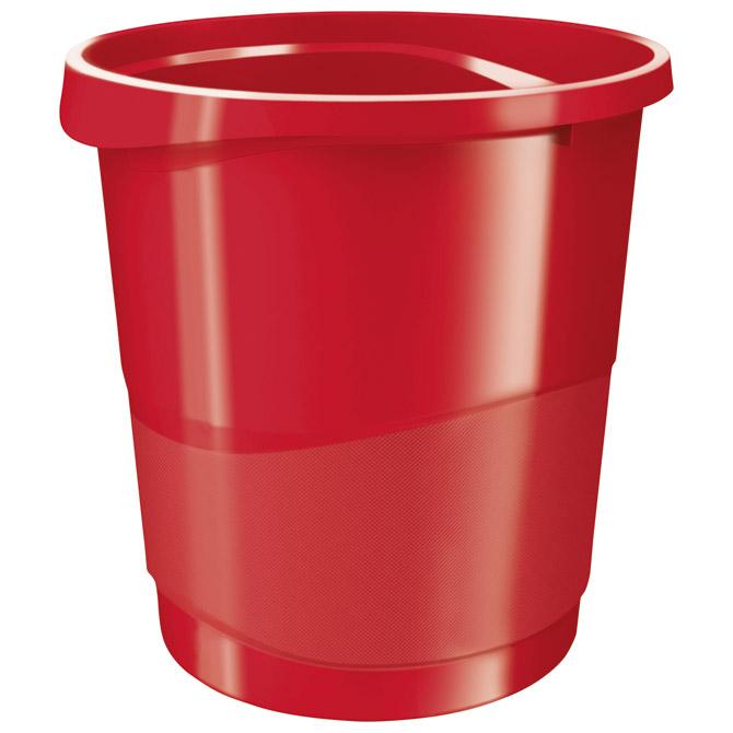 Koš za smeće pp 14L Vivida Esselte 623947 crveni!!