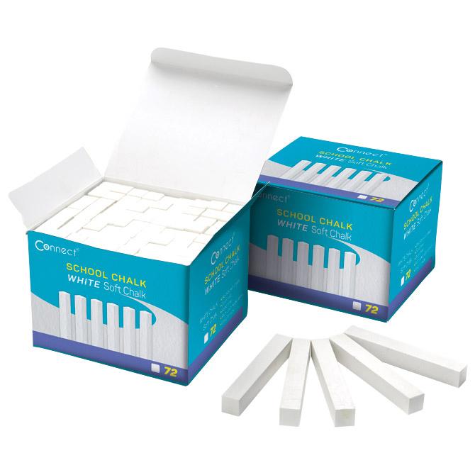Kreda školska četvrtasta soft pk72 Connect bijela!!