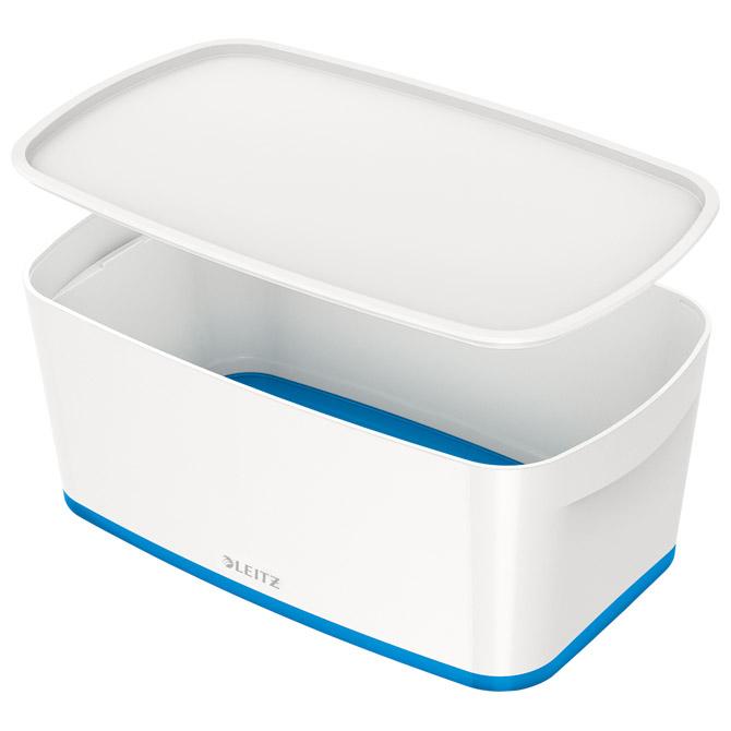 Kutija 318x191x128mm sa poklopcem pvc MyBox Leitz 522910-36 plavo/bijela!!
