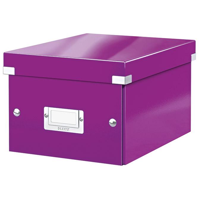 Kutija arhivska A5+ Small Click&Store Leitz 60430062 ljubičasta!!