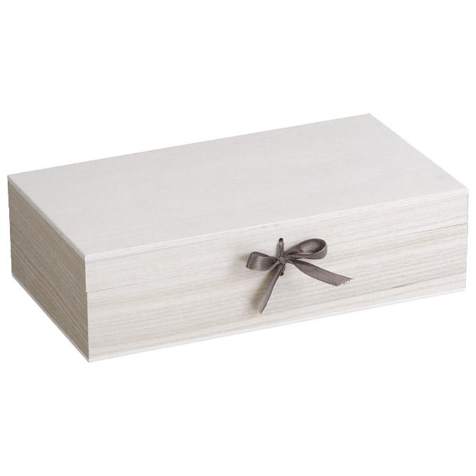Kutija ukrasna drvena 27x15x7