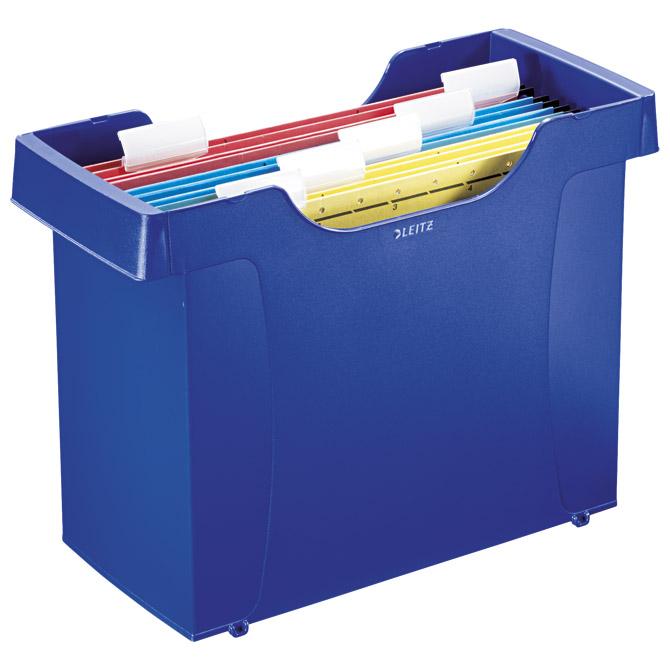 Kutija za mape viseće+5mapa Plus Leitz 19931035 plava