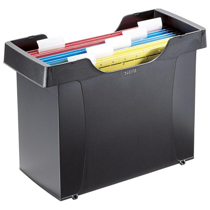 Kutija za mape viseće+5mapa Plus Leitz 19931095 crna