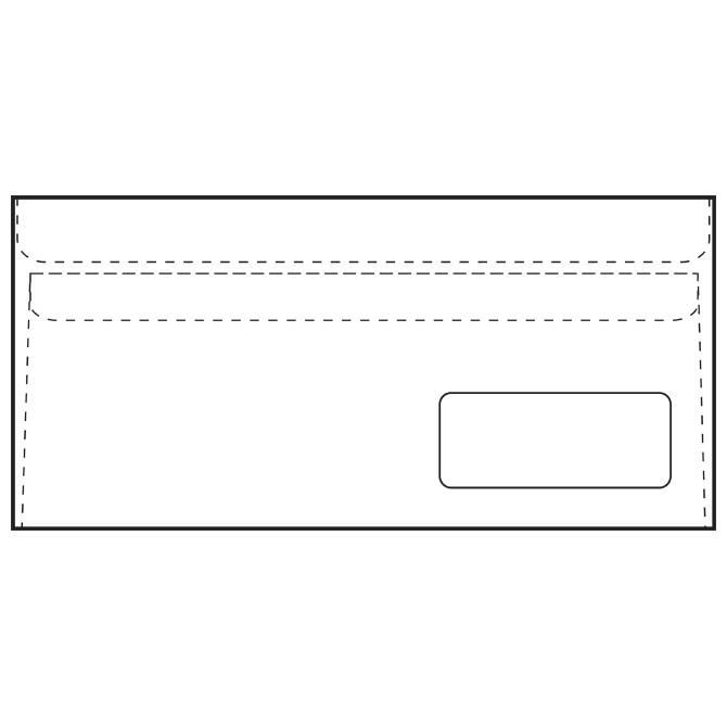 Kuverte ABT-PD latex 80g pk1000 Fornax