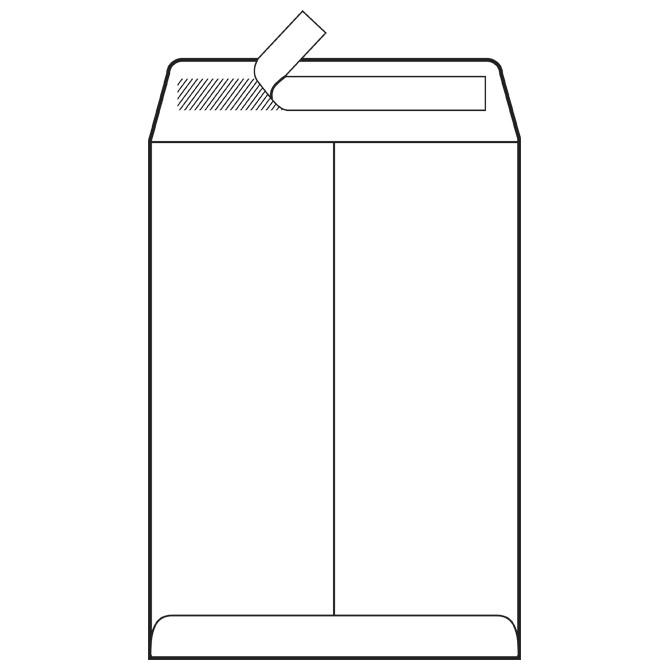Kuverte - vrećice 400-BB strip 100g pk250 Fornax