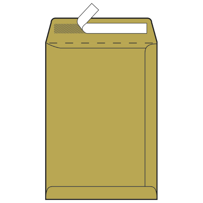 Kuverte - vrećice B4-N strip 100g pk250 Fornax