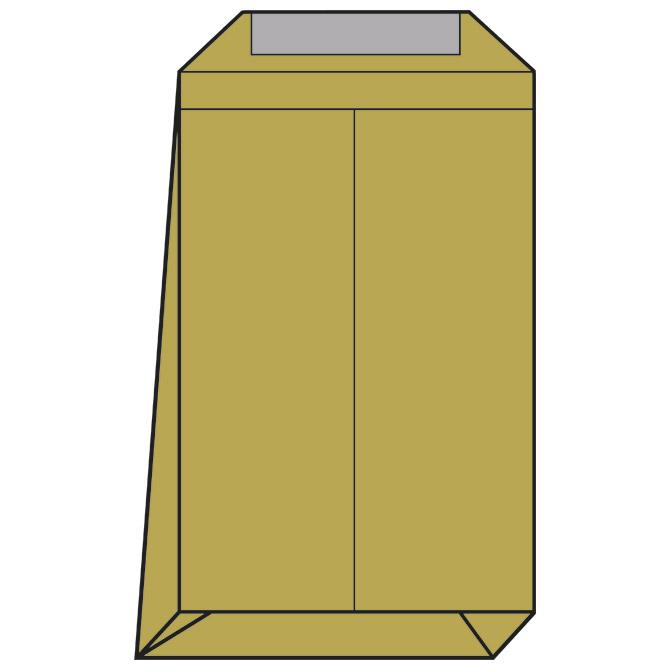 Kuverte - vrećice B4-N strip križno dno pk250 Lipa Mill 004155