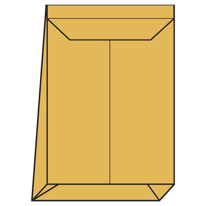 Kuverte - vrećice B4 strip prošireno bočno havana pk250 Blasetti