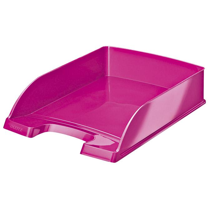 Ladica za spise Wow Leitz 52263023 metalik roza
