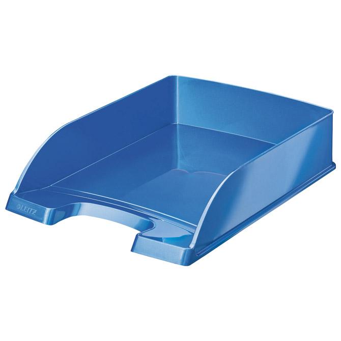 Ladica za spise Wow Leitz 52263036 metalik svijetlo plava