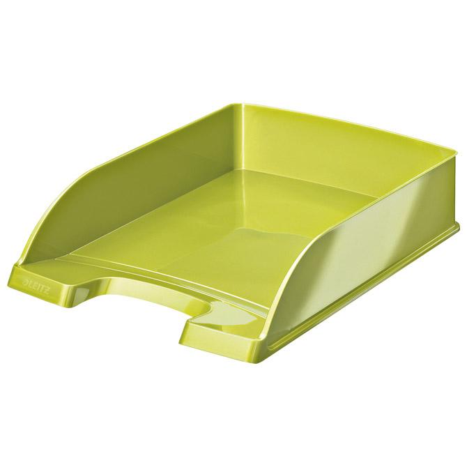 Ladica za spise Wow Leitz 52263054 metalik svijetlo zelena