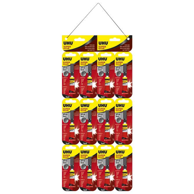 Ljepilo trenutačno 3g Super glue(cianoakrilat) UHU 40409