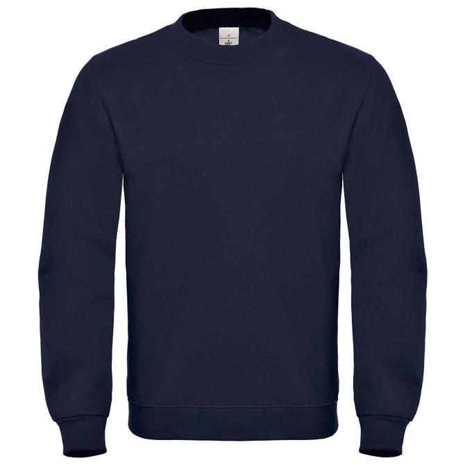 Majica dugi rukavi B&C ID.002 280g tamno plava 2XL