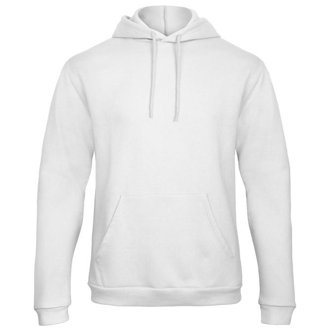 Majica dugi rukavi B&C ID.203 270g bijela 2XL
