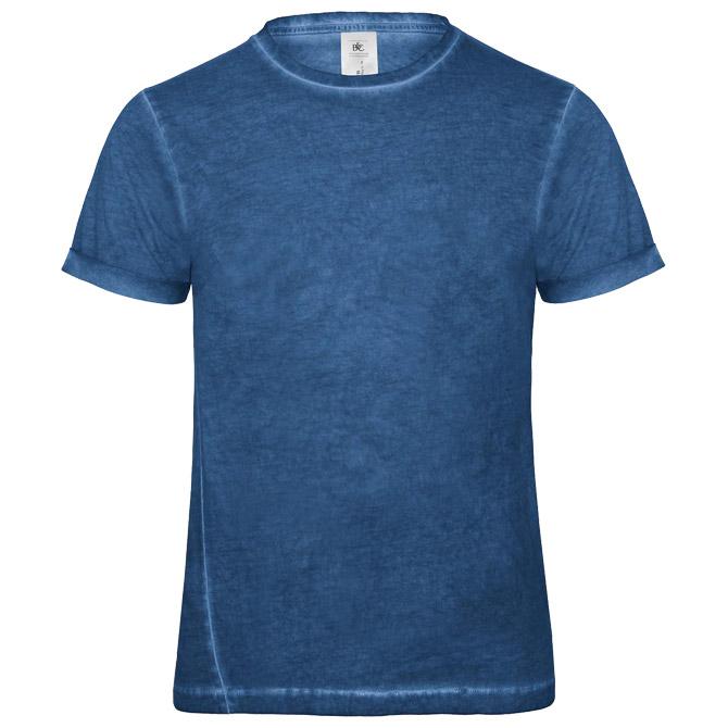 Majica kratki rukavi B&C DNM Plug In/men plava 2XL!!