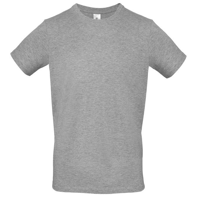 Majica kratki rukavi B&C #E150 svijetlo siva M