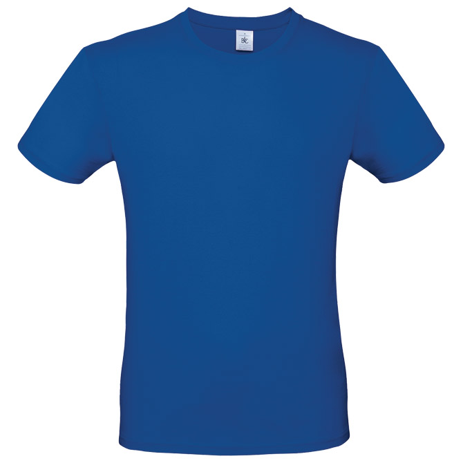 Majica kratki rukavi B&C #E150 zagrebačko plava XL