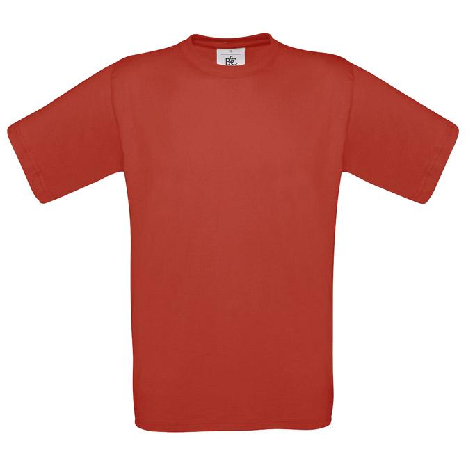 Majica kratki rukavi B&C Exact 190g crvena XL!!