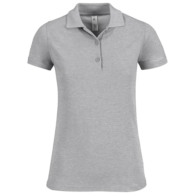 Majica kratki rukavi B&C Safran Timeless Women 180g svijetlo siva XL