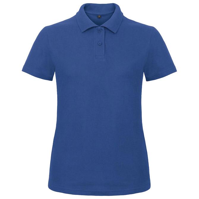 Majica kratki rukavi polo B&C ID.001/women 180g zagrebačko plava S