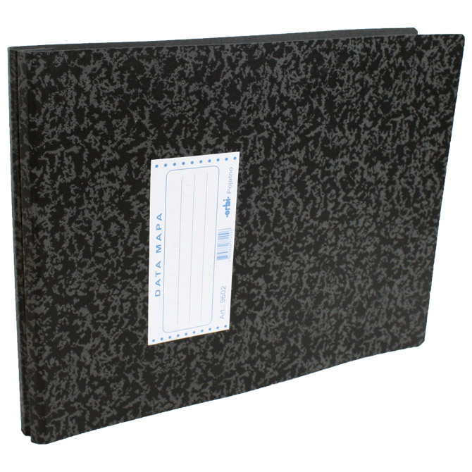 "Mapa Data 9602 za papir 12""x380mm Orbi 9602 marmorirana crna"