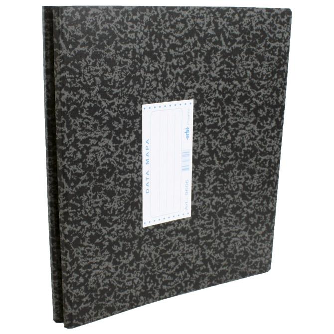 "Mapa Data 9606 za papir 380mmx12"" Orbi 9606 marmorirana crna"