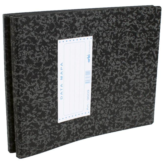 "Mapa Data 9609 za papir 234mmx12"" Orbi 9609 marmorirana crna"
