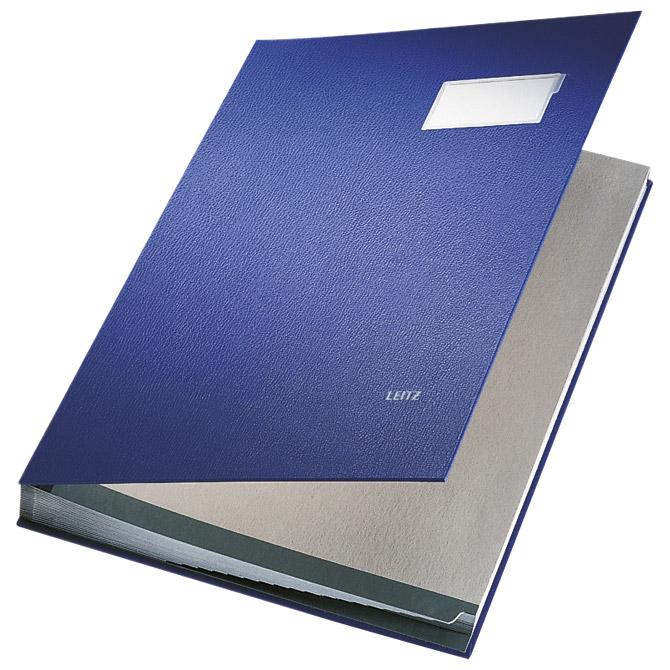 Mapa potpisna s prozorom Leitz 57000135 plava