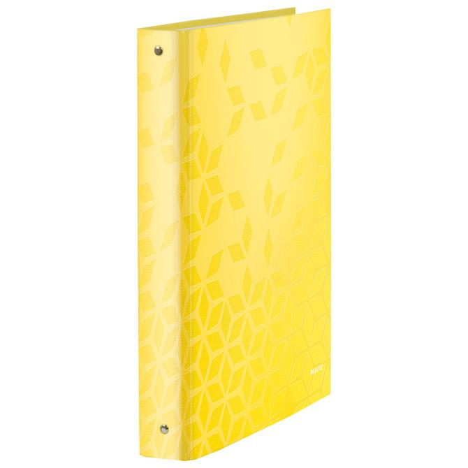 Mapa uložna 4ringa-fi30mm/hrbat-40mm A4 Wow Leitz 42440116 metalik žuta