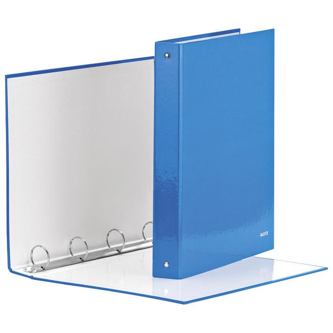 Mapa uložna 4ringa-fi30mm/hrbat-40mm A4 Wow Leitz 42440136 metalik svijetlo plava