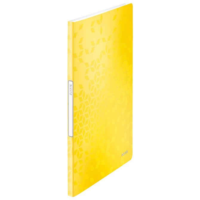 "Mapa uložna varena A4 s  20 fascikli ""U"" Wow Leitz 46310116 žuta"