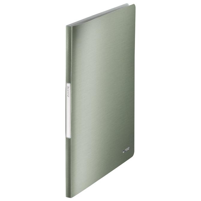 "Mapa uložna varena A4 s  40 fascikli ""U"" Style Leitz 39590053 metalik zelena"