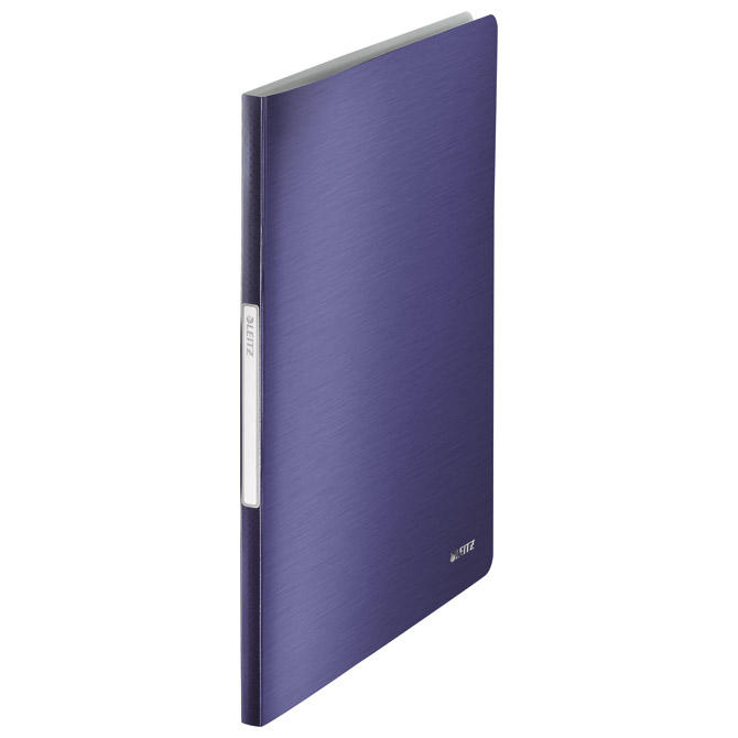 "Mapa uložna varena A4 s  40 fascikli ""U"" Style Leitz 39590069 tamno plava"