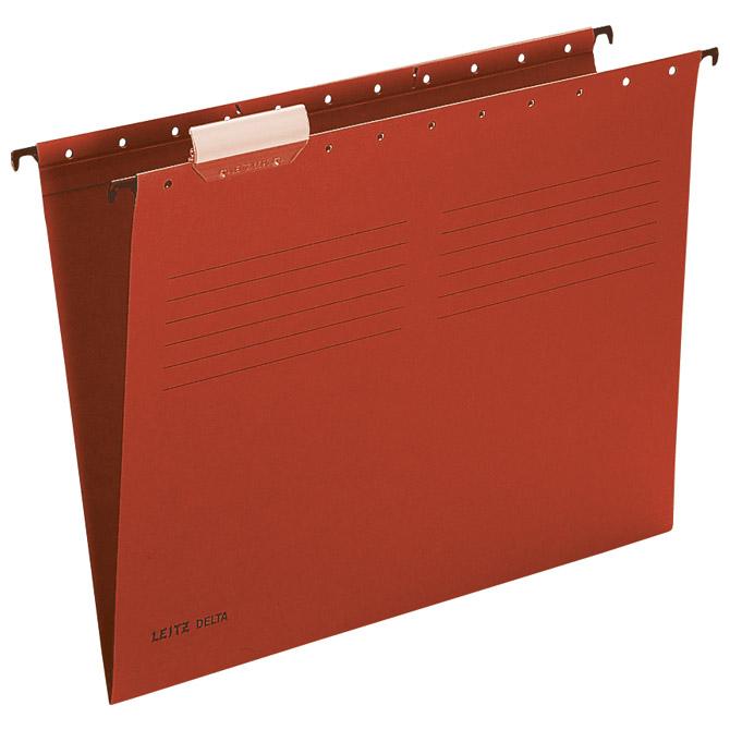 Mapa viseća 33-V A4 Delta Leitz 65150025 crvena