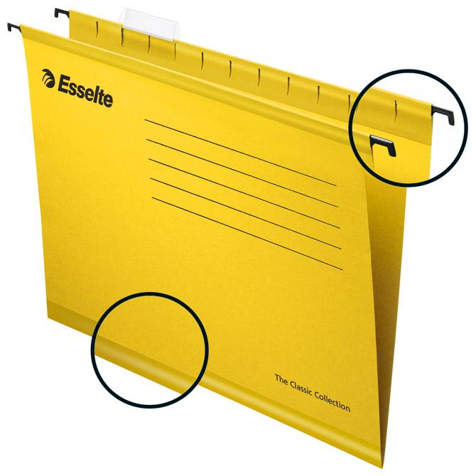 Mapa viseća 39-V standard pk25 Esselte-Pendaflex 903350 žuta