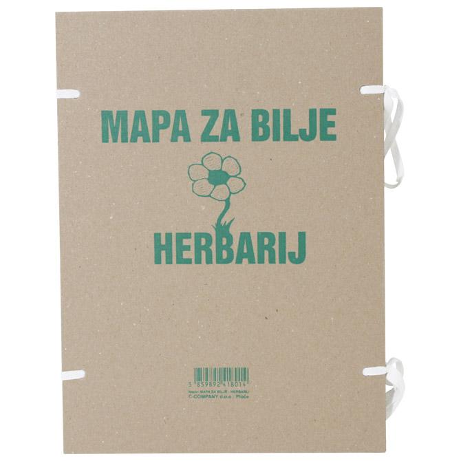 Mapa za bilje - herbarij