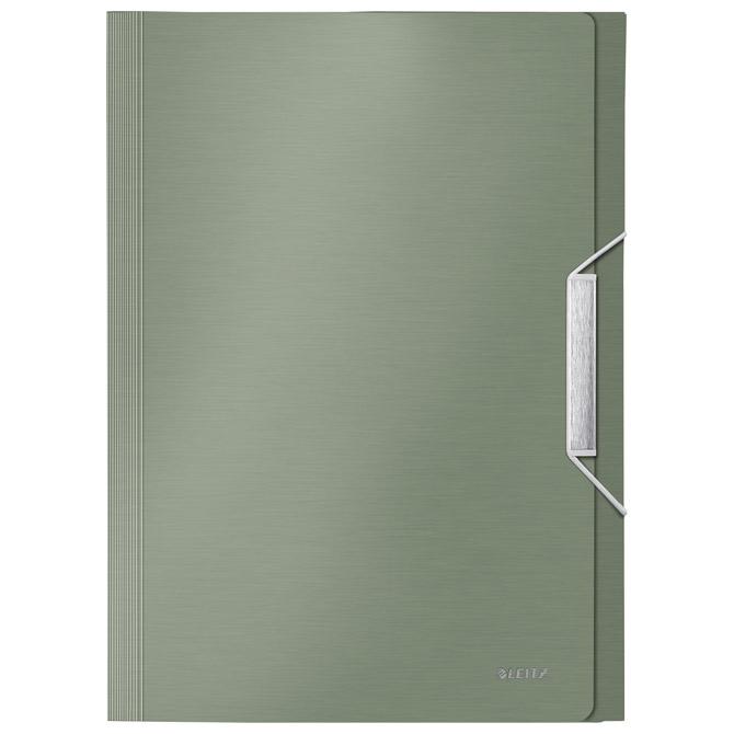 Mapa za kućni budžet  6 pregrada s gumicom pp Style Leitz 39570053 zelena