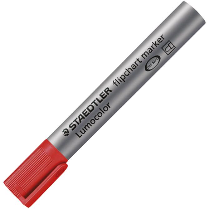 Marker Flipchart 2mm Lumocolor Staedtler 356-2 crveni