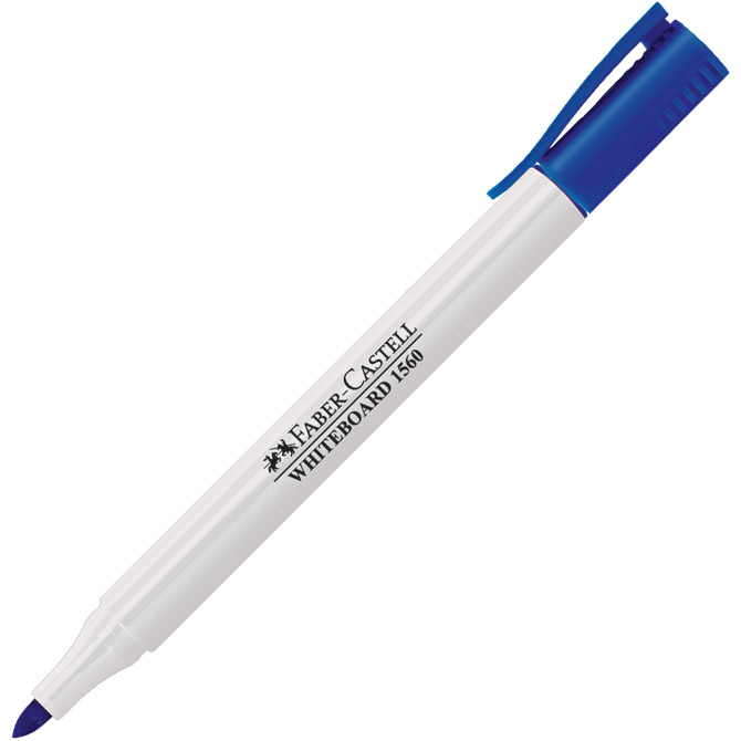 Marker za bijelu ploču 2mm Slim 1560 Faber Castell 156051 plavi!!