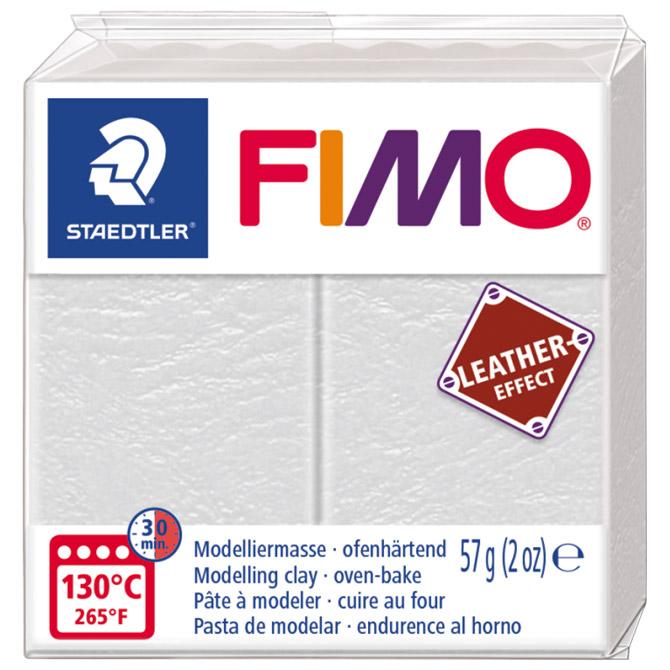 Masa za modeliranje   57g Fimo Effect Leather-effect Staedtler 8010-029 ivory