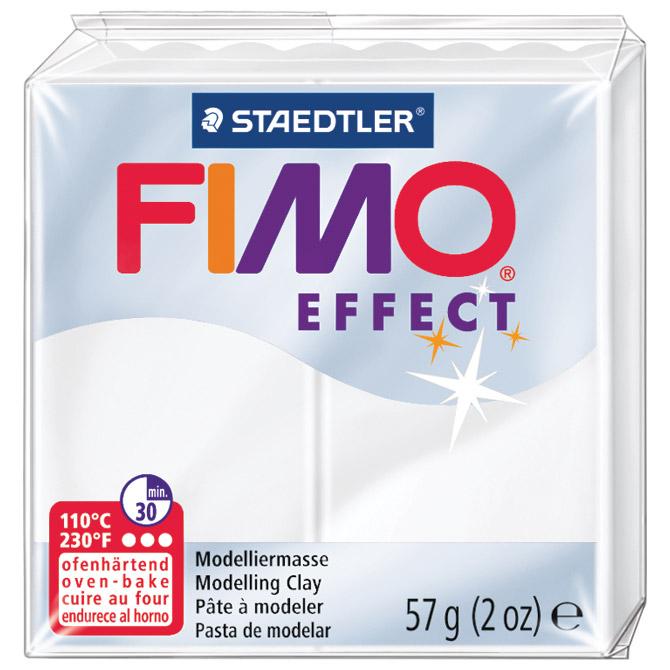 Masa za modeliranje   57g Fimo Effect Staedtler 8020-014 prozirno bijela