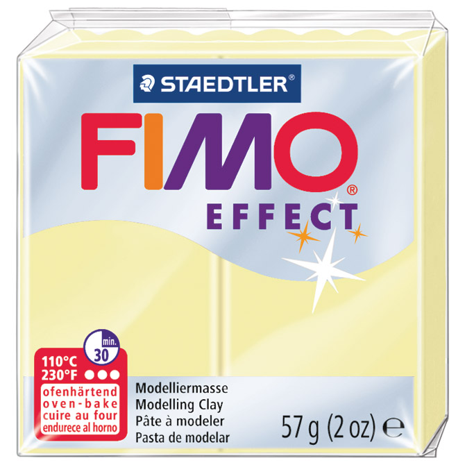 Masa za modeliranje   57g Fimo Effect Staedtler 8020-105 pastelna boja vanilije