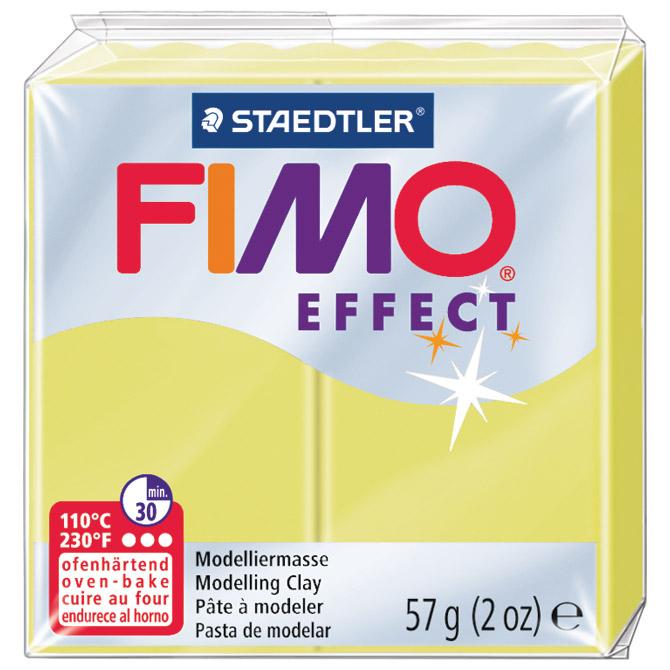 Masa za modeliranje   57g Fimo Effect Staedtler 8020-106 dragi kamen - citrin