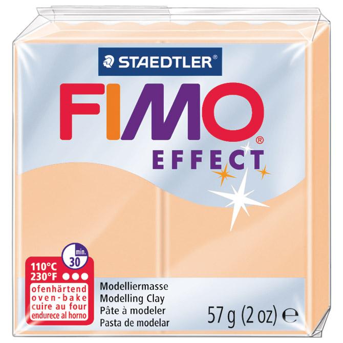 Masa za modeliranje   57g Fimo Effect Staedtler 8020-405 pastelna boja breskve