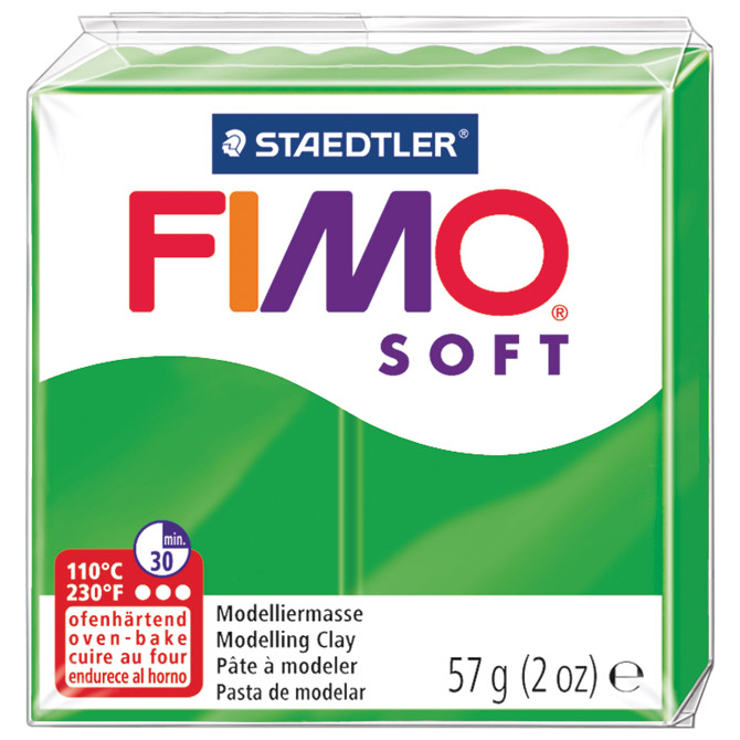Masa za modeliranje   57g Fimo Soft Staedtler 8020-53 tropsko zelena