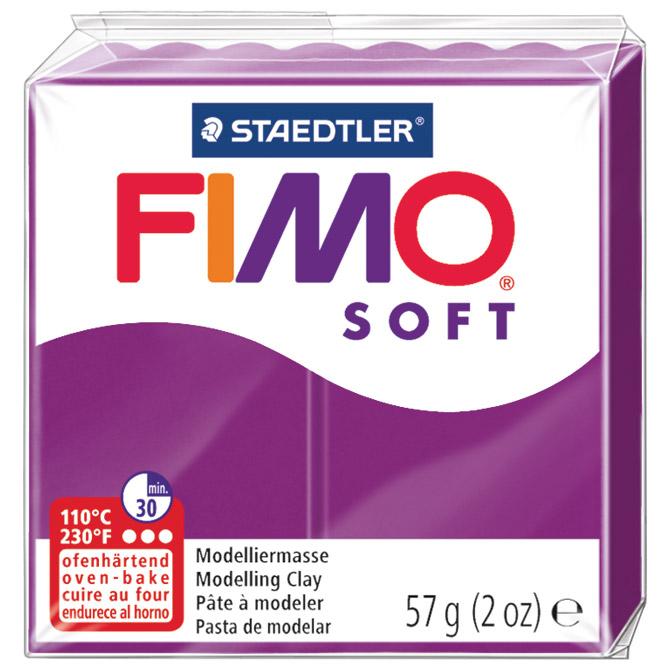 Masa za modeliranje   57g Fimo Soft Staedtler 8020-61 ljubičasta