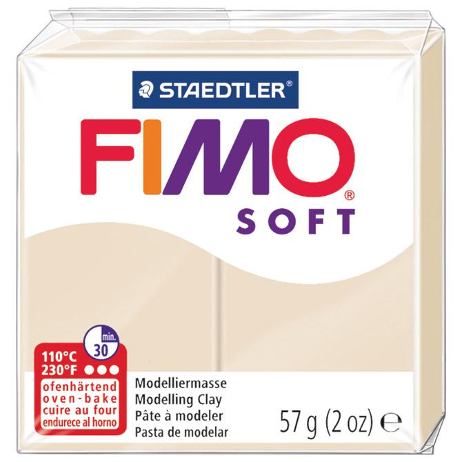 Masa za modeliranje   57g Fimo Soft Staedtler 8020-70 sahara