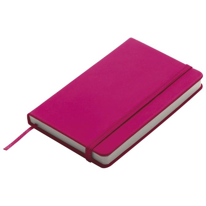 Notes  9x14cm čisti 96L s gumicom rozi